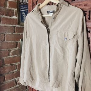 VINTAGE NUDE BUTTON DOWN